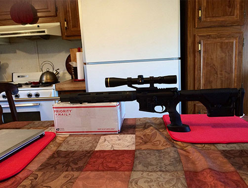 AR15 Using DSX Products